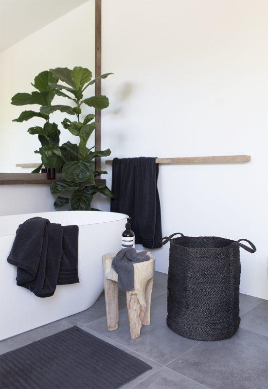 Wäschekorb, Jute, The Dharma Door, Korb, Topf, Charcoal, Urban Yards