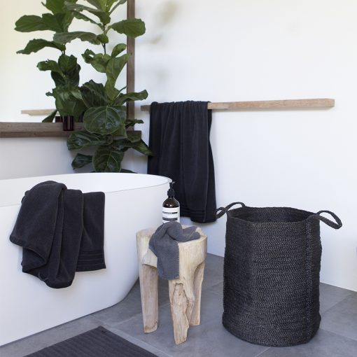 Wäschekorb, Jute, The Dharma Door, Korb, Topf, Charcoal, Urban Yards